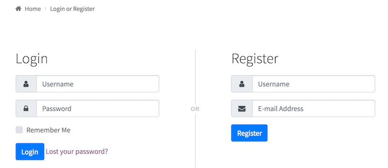 e38c46ec096 Below is an example of how the login registration page looks like when the  feature is enabled